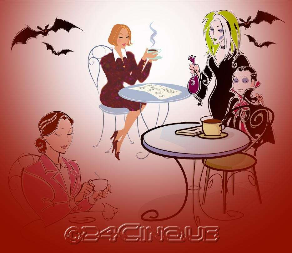"""""""Un tè con i vampiri"""""""